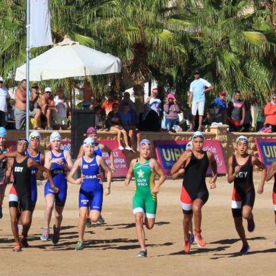 Race Start U13 Girls Triathle.JPG