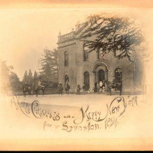 Leweston Christmas Card 1894