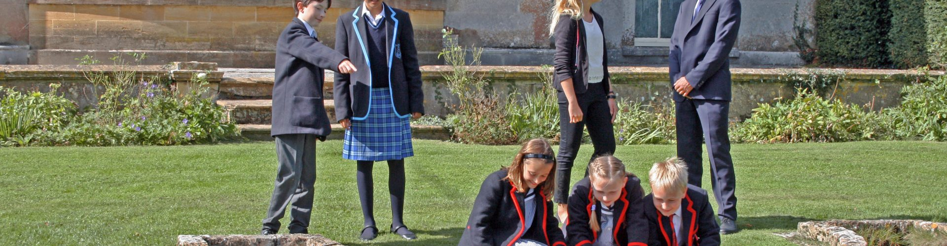 Leweston School Students