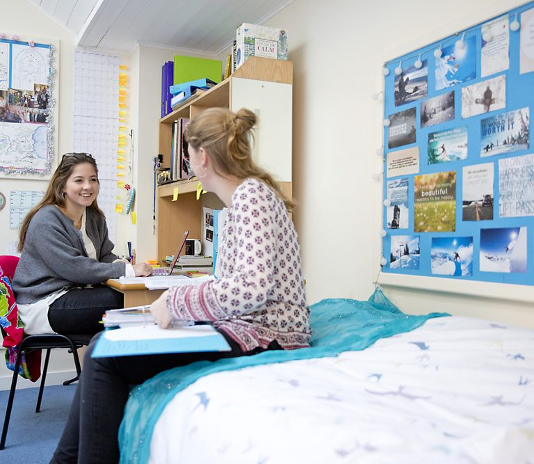 Leweston School Boarders in Dorm