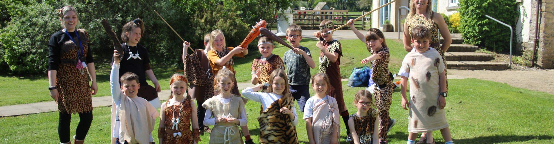 Leweston Prep Stone Age Wow Day